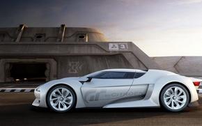 Картинка белый, будущее, Citroen