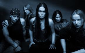 Картинка Nightwish, Tarja Turunen, Emppu Vuorinen, Symphonic power metal, Marco Hietala, Tuomas Holopainen, Jukka Nevalainen