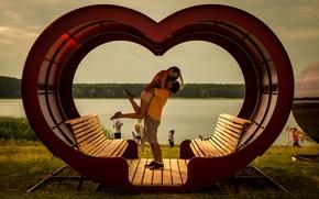Картинка Love, couple, happiness, Heart