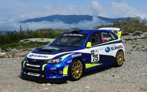Картинка Subaru, WRX, STI, субару, Rally Car