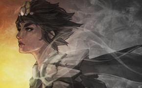 Картинка девушка, League of Legends, fan art, taliyah, Stoneweaver