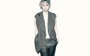 Картинка фотосессия, Jennifer Lawrence, Marie Claire, март 2014