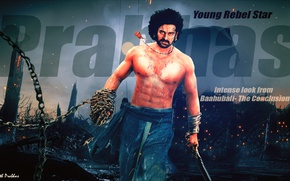 Картинка actor, prabhas, baahubali