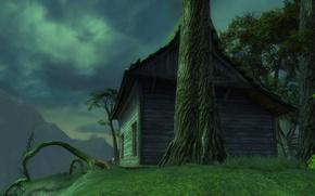 Картинка дом, дерево, Rift