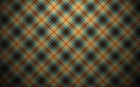 Картинка ретро, текстура, клетка, texture