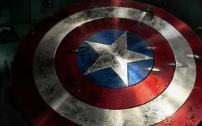 Картинка щит, супергерой, Captain America, Marvel Comics, капитан Америка