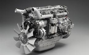 Обои Двигатель, Крыльчатка, Сканиа