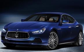 Картинка Maserati, седан, Ghibli