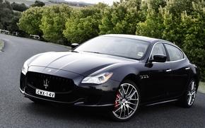 Обои GTS, Quattroporte, Maserati, кватропорте, мазерати
