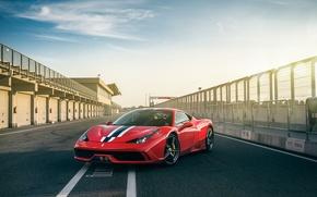 Картинка Ferrari, 458, Speciale, Track