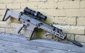 Картинка оружие, автомат, винтовка, штурмовая, FN SCAR