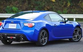 Картинка Subaru, Classic, синяя, BRZ