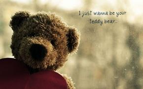 Картинка сердечко, teddy, медведь, сердце, тедди, грусть, любовь, плюшевый, bear, мишка, медвежонок