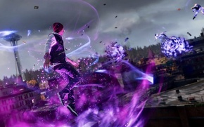 Картинка playstation, ps4, делсин роу, delsin row, Infamuos second son