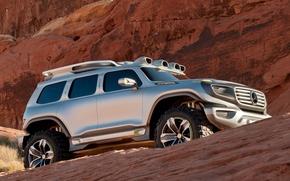 Картинка Concept, горы, Mercedes-Benz, мерседес, suv, 4х4, Ener-G-Force