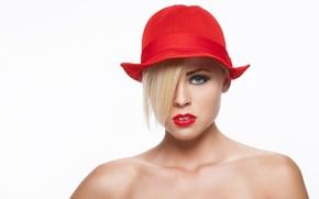 Картинка photostudio, red girl, stas voropaev