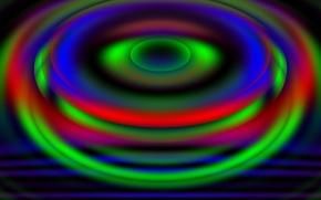 Обои круги, разноцветье, ярко, фон