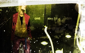 Картинка аниме, перчатки, парень, ремень, Bleach, Блич, Ичиго Куросаки, kurosaki ichigo, толстовка