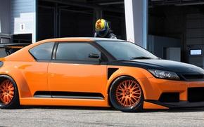Картинка Orange, Tuning, Scion