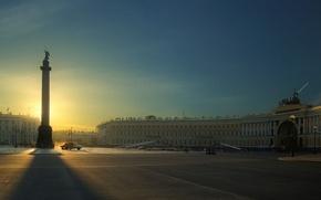 Обои Санкт-Петербург, дворцовая, площадь, Питер