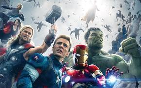 Картинка Мстители, Avengers:Age of Ultron, Мстители:Эра Альтрона