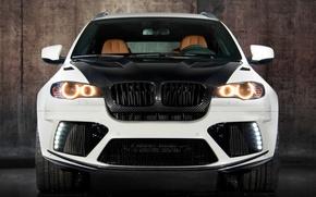 Картинка белый, бмв, BMW, white, карбон, кроссовер, Mansory