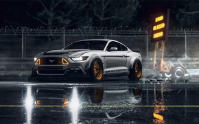 Картинка Mustang, Ford, NFS, Need for Speed, 2015, НФС