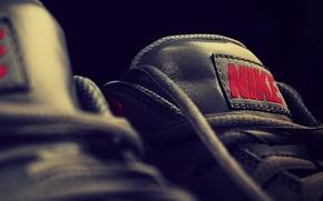 Картинка sport, кроссовки, nike, язычек, brend, чёрный цвет, язычёк
