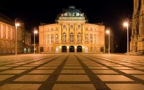 Обои опера, Германия, Chemnitz, Кемниц