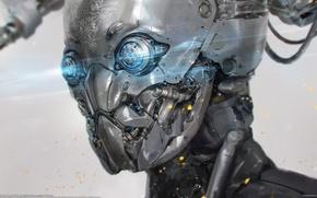Картинка робот, киборг, Long Ouyang