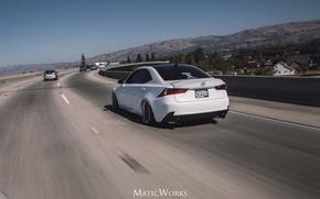 Картинка Lexus, IS350, Stance
