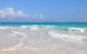 океан, курорт, доминикана, море, вода, волны,песок, пляж, отдых,релакс обои