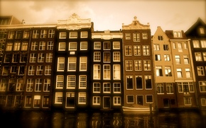 Обои Holland, oostvrieslant, дома