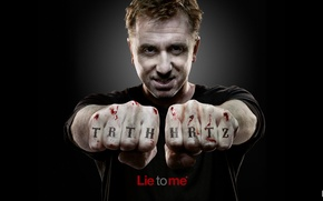 Обои обмани меня, lie to me, cal lightman, tim roth
