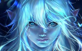 Картинка Girl, Art, Elf