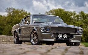 Картинка Mustang, Ford, Shelby, GT500, USA, Eleanor, Muscle Car, Classic Car