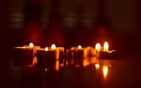 Картинка праздник, вечер, свечи