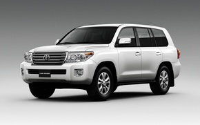 Обои Toyota, Land Cruiser, тойота, ланд крузер