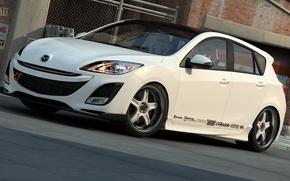 Картинка графика, арт, Mazda 3, dangeruss, Mazda Motor Corporation