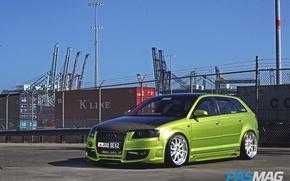 Картинка Audi, Green, Joser Romo's