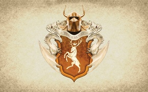 Картинка symbol, series, dragon, A Song of Ice and Fire, Game of Thrones, shield, deer, Baratheon, …