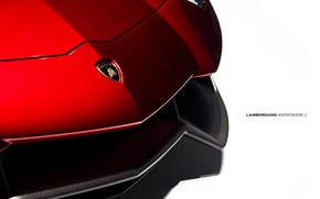 Картинка суперкар, передок, ламборгини, Lamborghini Aventador J