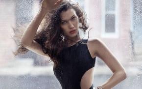 Картинка девушка, поза, Bella Hadid