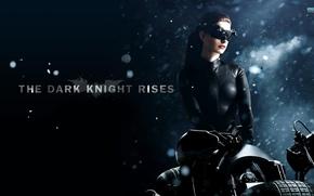 Картинка anne hathaway, dark knight rises, cat-women, bat-man