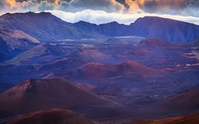 Картинка горы, природа, Hawaii, Haleakala on Maui