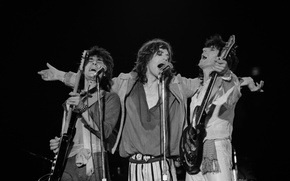 Картинка музыка, music, rock, легенды, The Rolling Stones, Роллинг Стоунз, Ron Wood, Mick Jagger, Keith Richards, ...