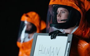 Обои cinema, film, movie, human, Arrival, woman