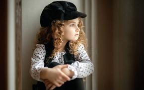 Картинка портрет, девочка, Sergey Piltnik