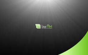 Картинка Linux, операционная система, Linux Mint, from freedom came elegance