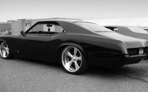Обои Riviera, black, Buick, low